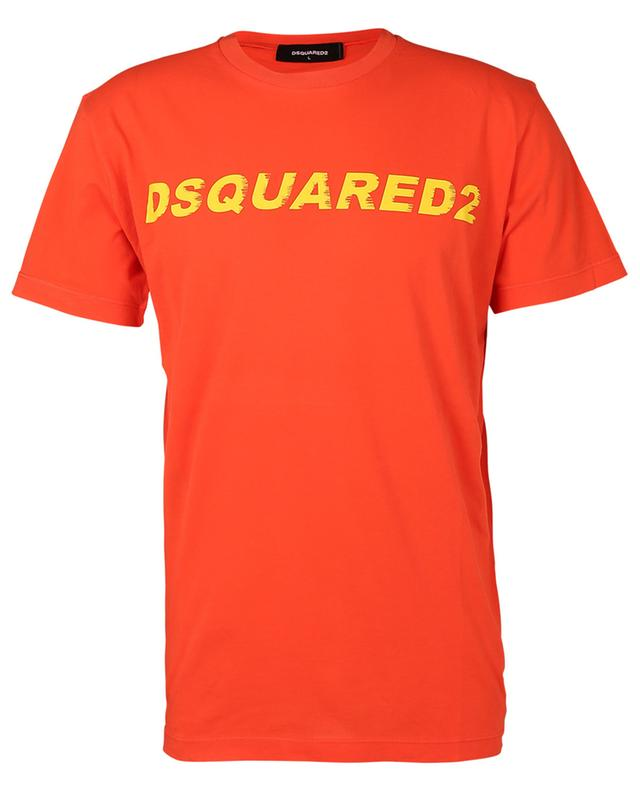 T-Shirt manches courtes en coton imprimé logo Cool Fit DSQUARED2