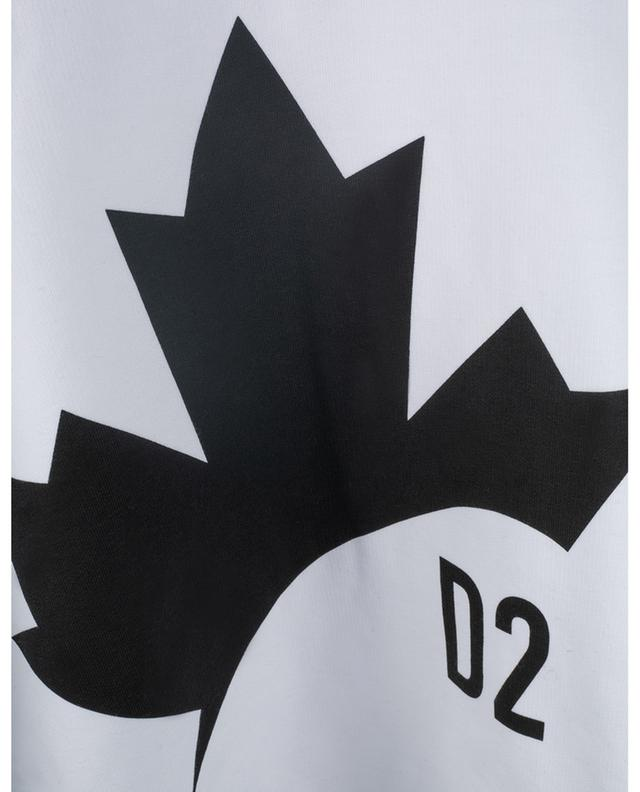 Pull motif logo en coton DSQUARED2