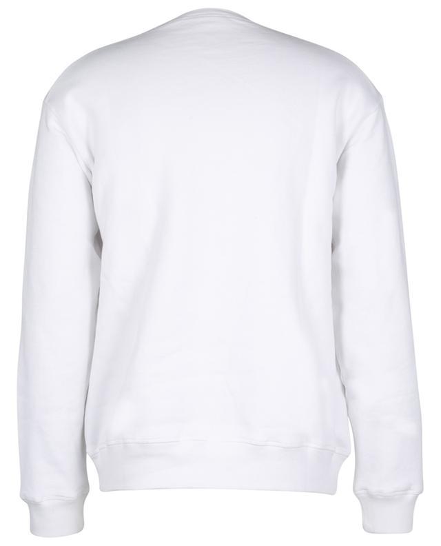 Sweat-shirt en coton imprimé logo DSQUARED2