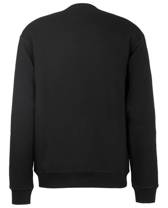 Sweat-shirt en coton imprimé logo DSQUARED2