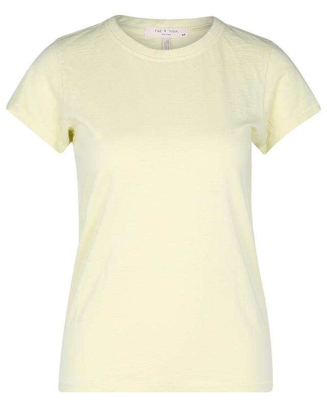 T-shirt à col rond en coton flammé The Slub RAG&BONE JEANS
