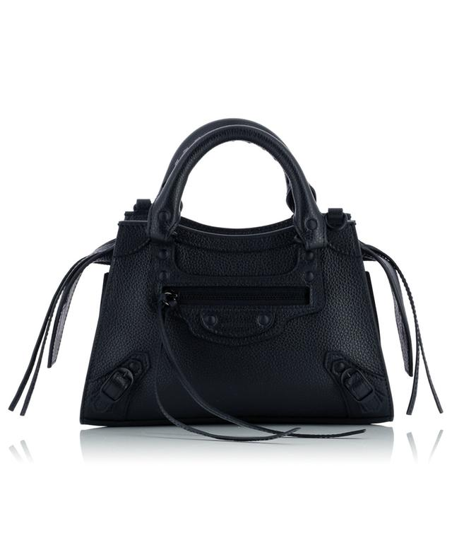 Sac à main en cuir grainé Neo Classic City Mini BALENCIAGA