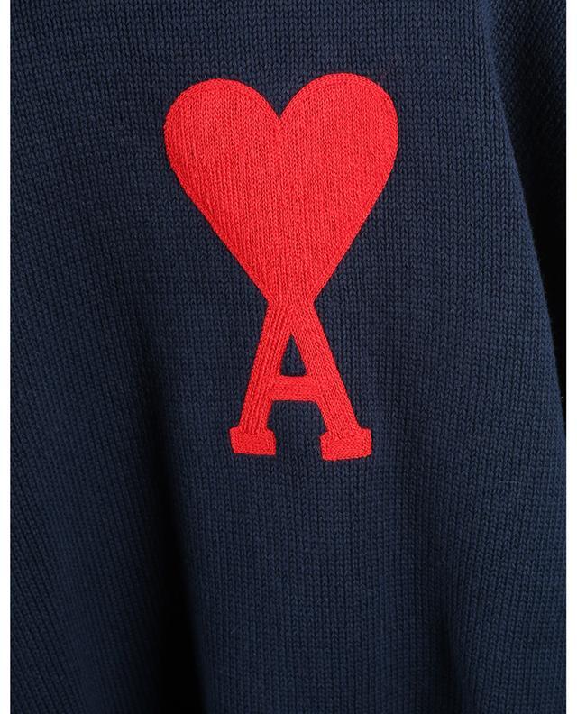 Pull oversize en coton et laine Ami de Coeur AMI