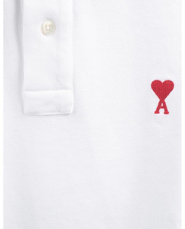 Polo à manches courtes en coton piqué Ami de Coeur AMI