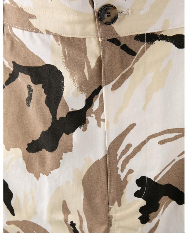 Bermuda cargo imprimé camouflage KENZO