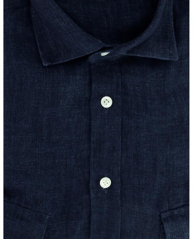 Chemise en sergé de lin Dandy Life Vintage Shirt BARBA