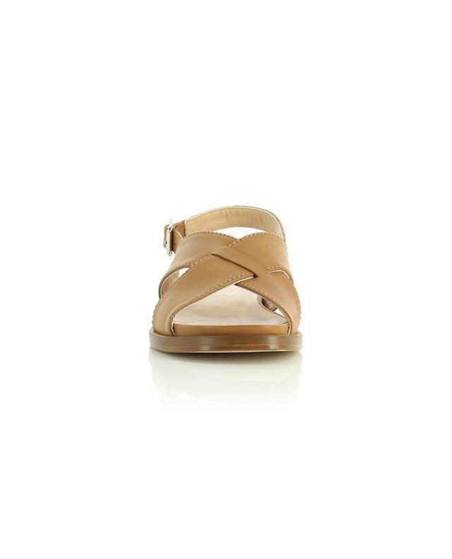 Sandales plates en cuir à bout carré BONGENIE GRIEDER