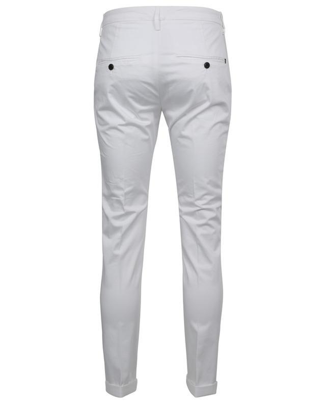 Pantalon slim en gabardine Gaubert DONDUP