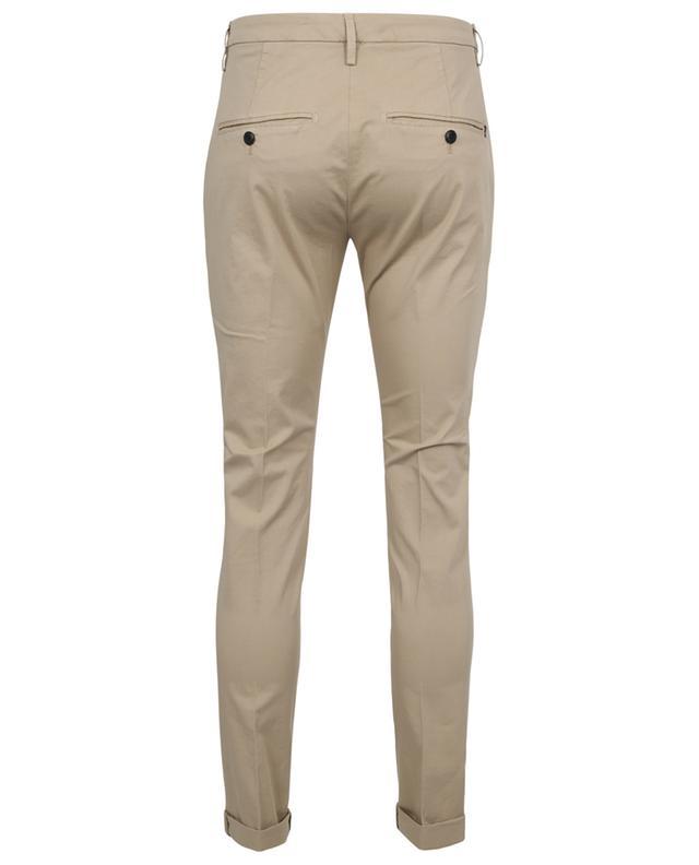 Pantalon chino slim en gabardine Gaubert DONDUP