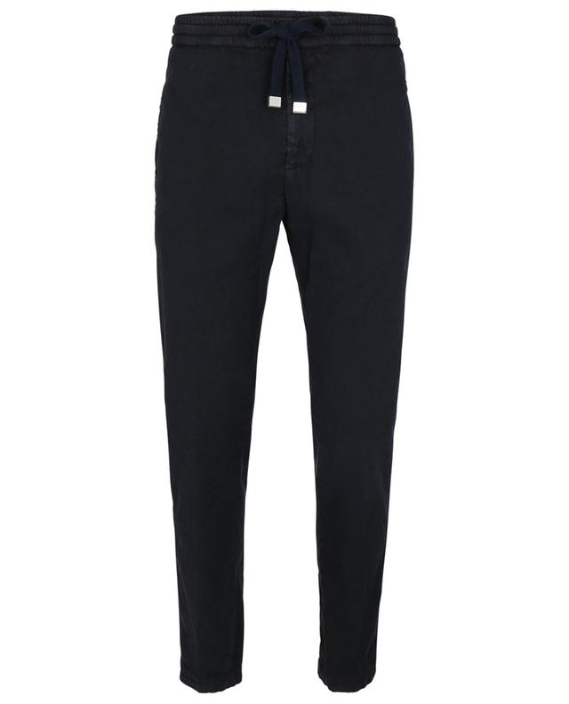 Pantalon de jogging en lin et lyocell Dom DONDUP