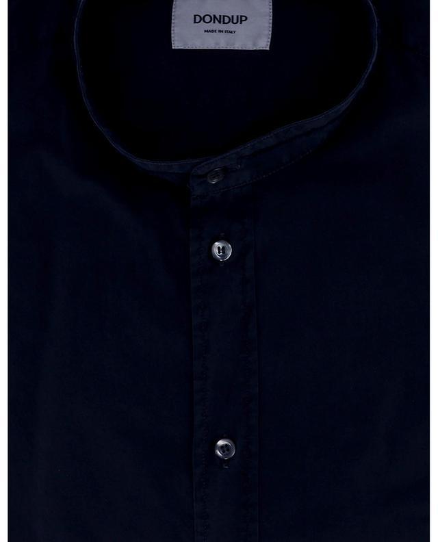 Chemise à col mao et bords francs DONDUP