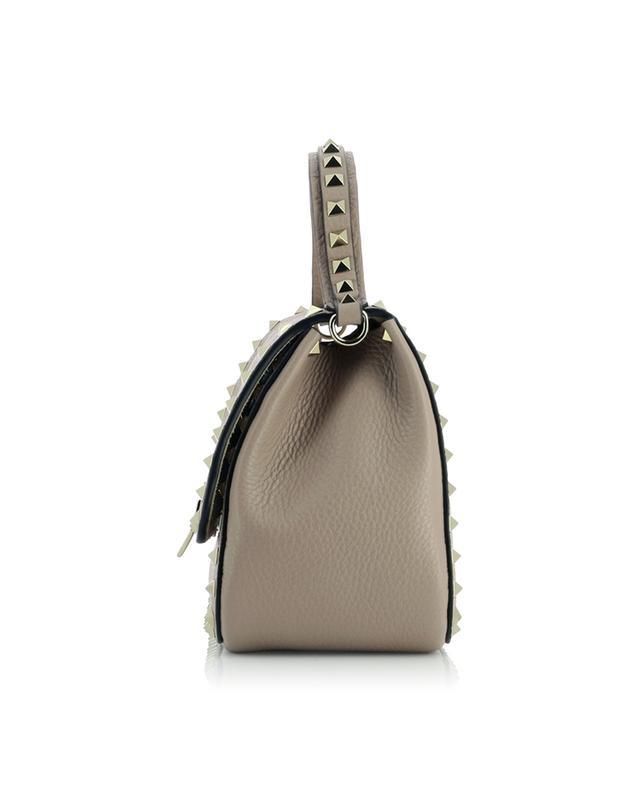 Handtasche aus genarbtem Leder Rockstud VALENTINO