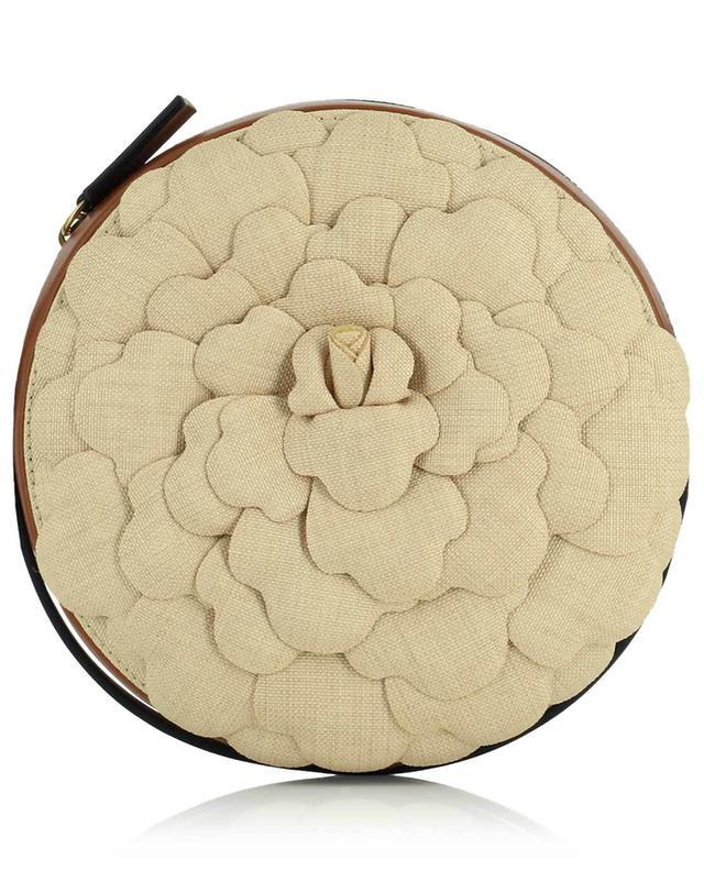 Sac porté épaule en tissu et cuir Atelier 03 Rose Edition VALENTINO