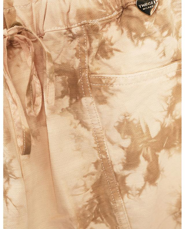 Short tie-and-dye en coton et lyocell TWINSET