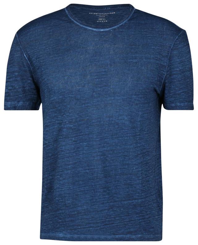 T-shirt en jersey de lin et soie MAJESTIC FILATURES