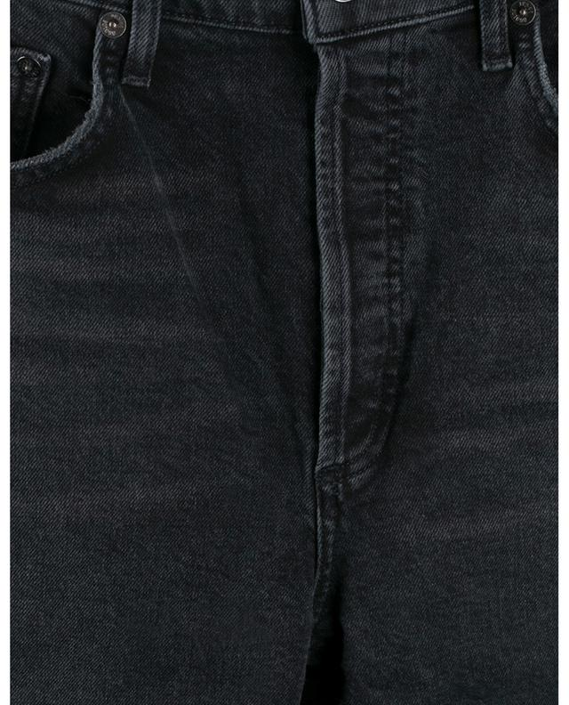 Jean droit taille haute raccourci Riley Panoramic AGOLDE