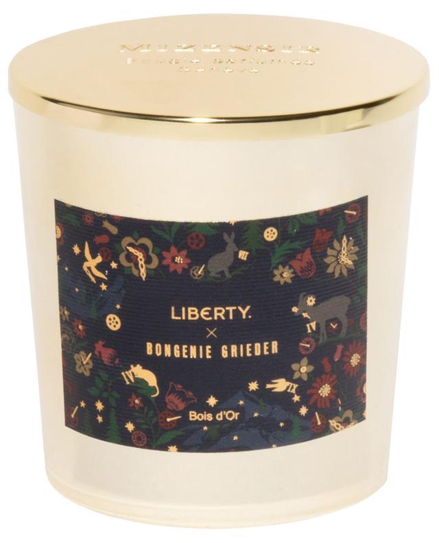 Bougie parfumée Bois d'Or Liberty x Bongénie Grieder - 230 g MIZENSIR