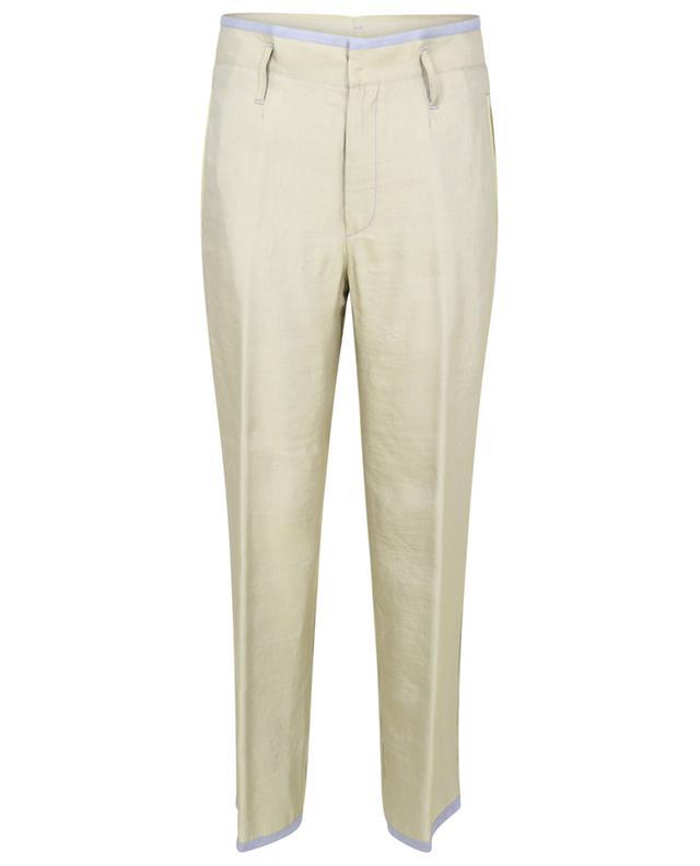 Pantalon large en lin mélangé irisé FORTE FORTE