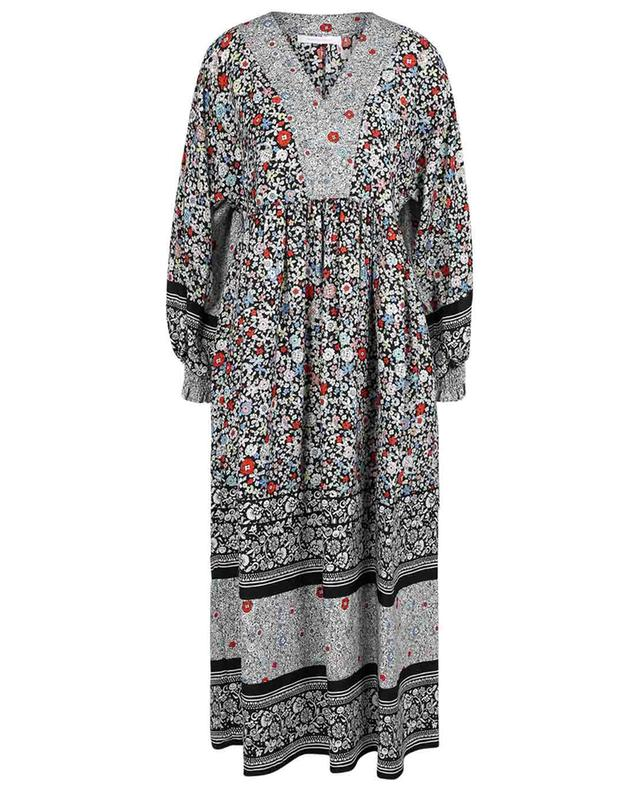 Robe tunique fleurie fluide Janis SEE BY CHLOE