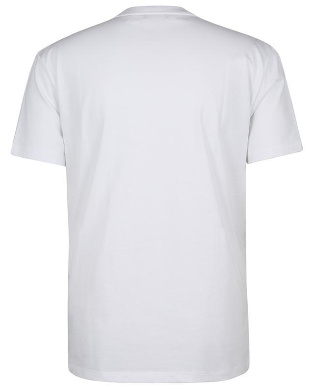T-shirt col rond avec logo imprimé FAY