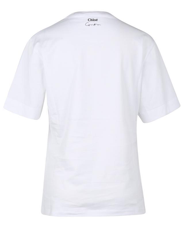T-shirt en coton bio imprimé Corita Kent CHLOE
