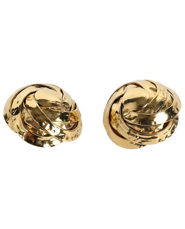 Grands clips d'oreilles dorés ART0200 POGGI