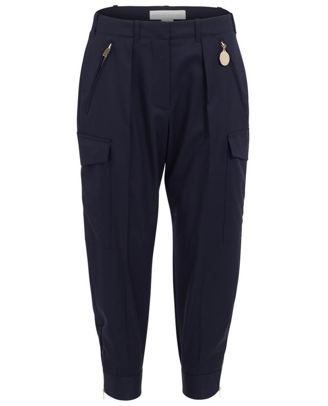 Patty cropped wool tapered trousers STELLA MCCARTNEY