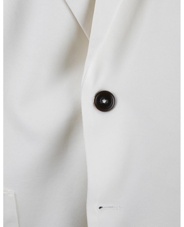 Blazer à boutonnage simple en coton piqué CIRCOLO 1901