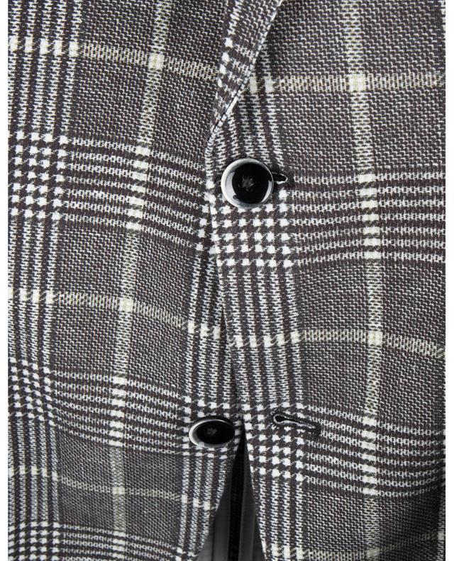 Blazer en jersey imprimé prince-de-galles CIRCOLO 1901