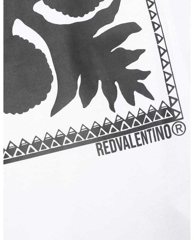 T-shirt imprimé Floral Damier RED VALENTINO