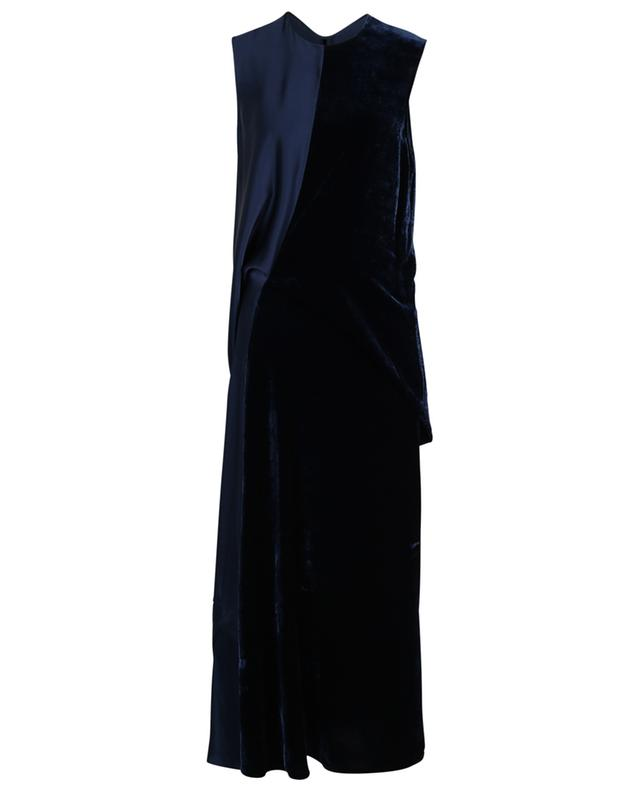 Robe longue en satin et velours STELLA MCCARTNEY