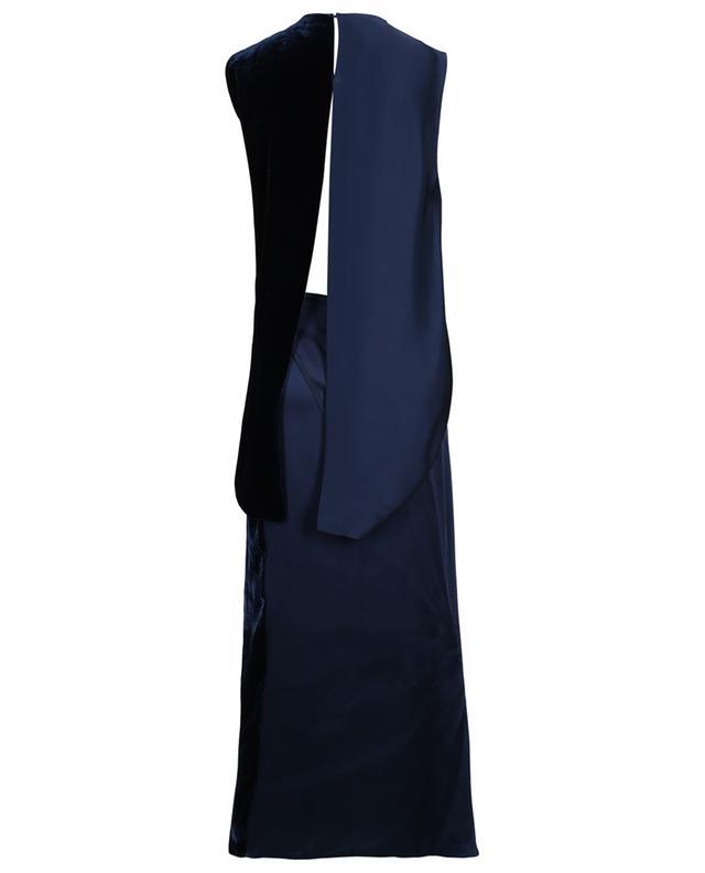 Long satin and velvet dress STELLA MCCARTNEY