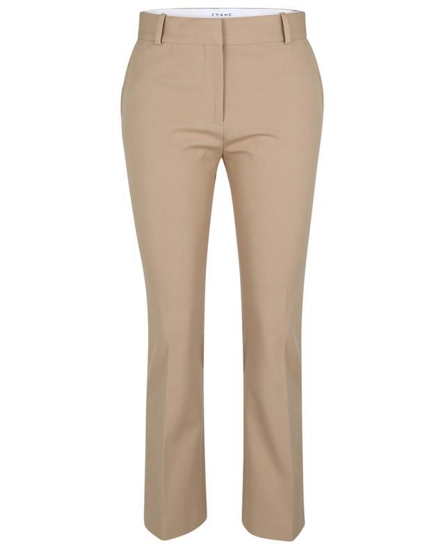 Pantalon en coton stretch Le Crop Mini Boot FRAME