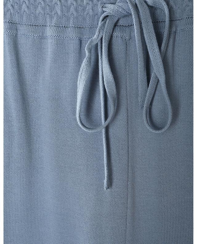 Pantalon de jogging large en maille légère Manila FEDELI