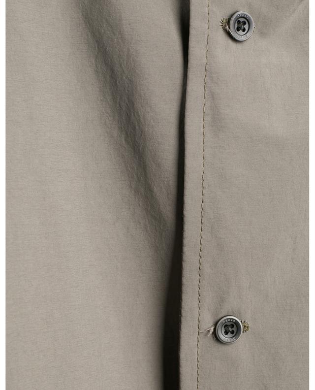 Imperméable ample en tissu technique à capuche HERNO