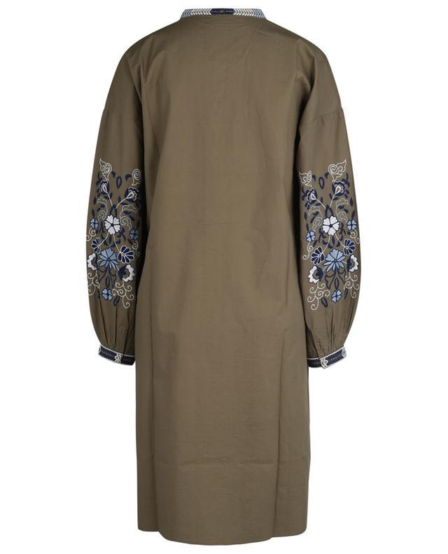 Robe tunique brodée en popeline Reanina HARTFORD