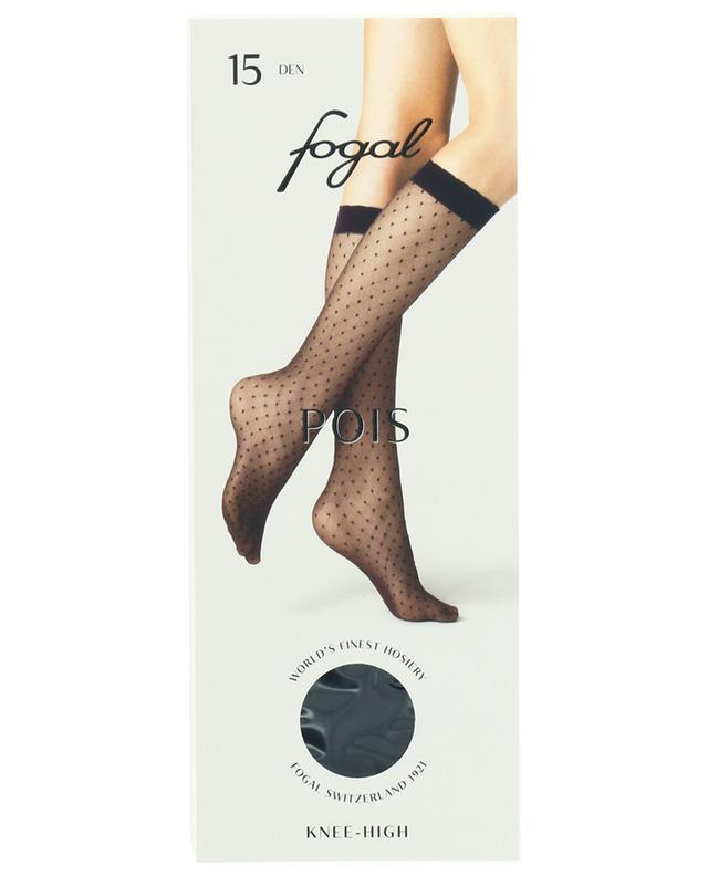 Sheer polka-dot knee-high socks FOGAL