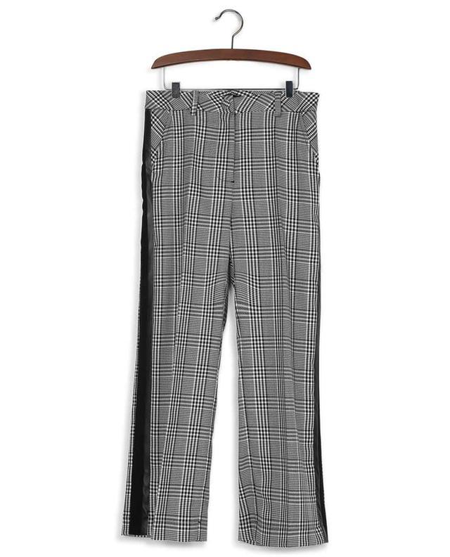 Pantalon pied-de-poule en viscose mélangée MONNALISA