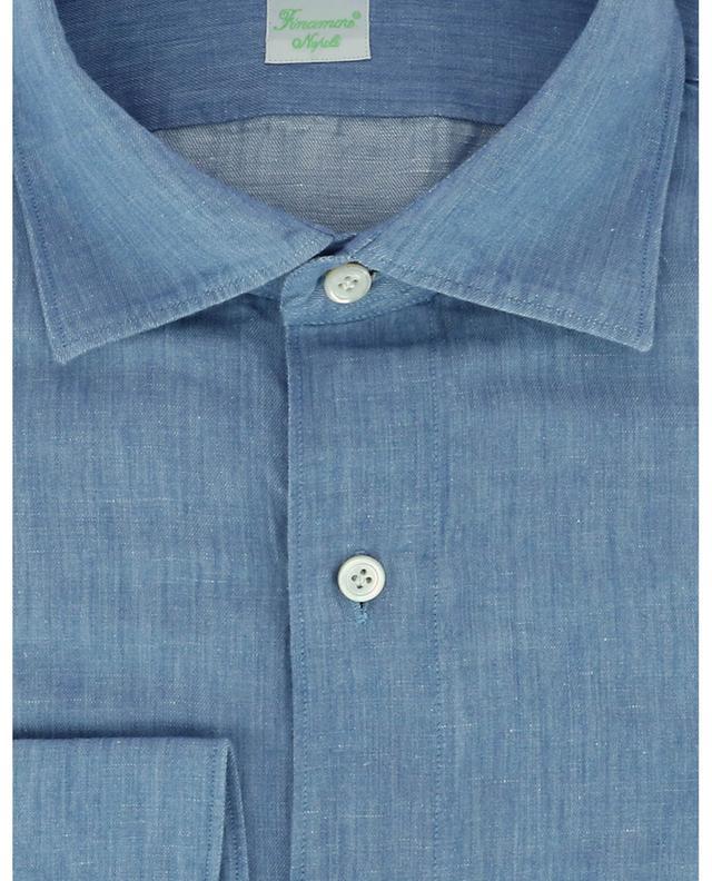 Chemise en chambray à manches longues Gaeta FINAMORE