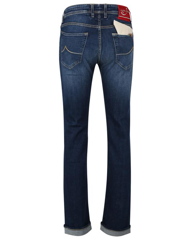 J688 Limited Comf natrual indigo dyed straight-fit jeans JACOB COHEN