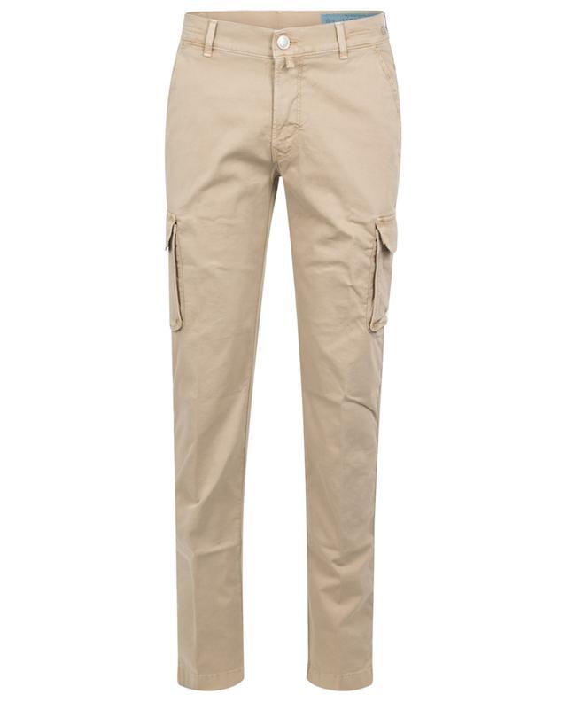 Pantalon cargo en gabardine Ike Comfort JACOB COHEN