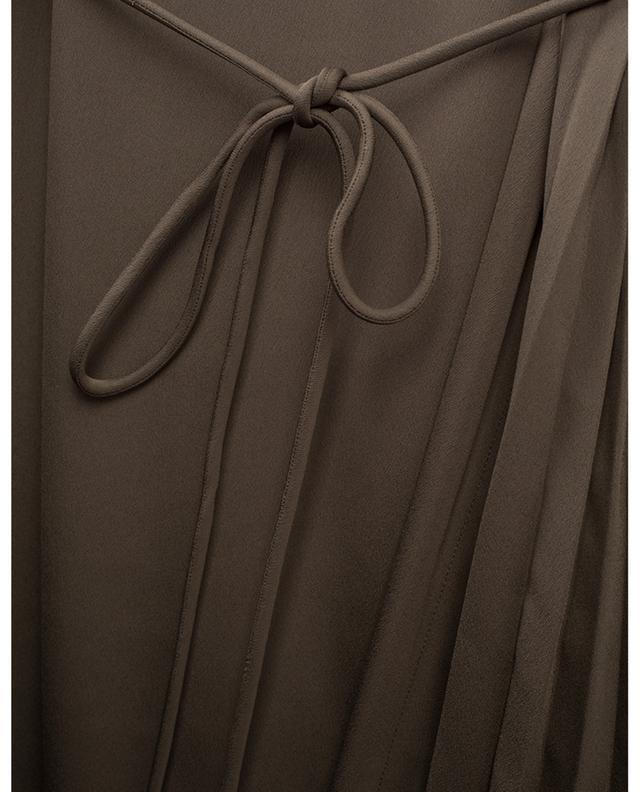Robe plissée sans manches THEORY