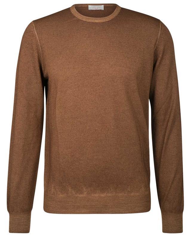 Pull fin en laine vierge à col rond GRAN SASSO