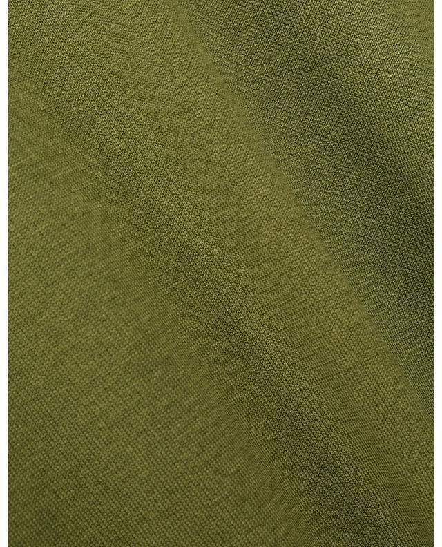 Polo à manches courtes en maille de soie et coton MAURIZIO BALDASSARI