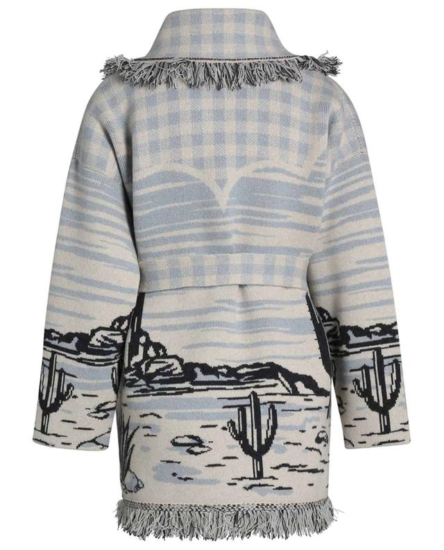 Cardigan jacquard oversize en cachemire Ride Your Dreams ALANUI