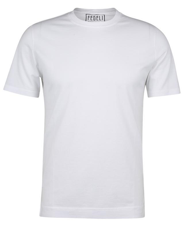 T-shirt col rond en coton organique de Gizeh Extreme FEDELI
