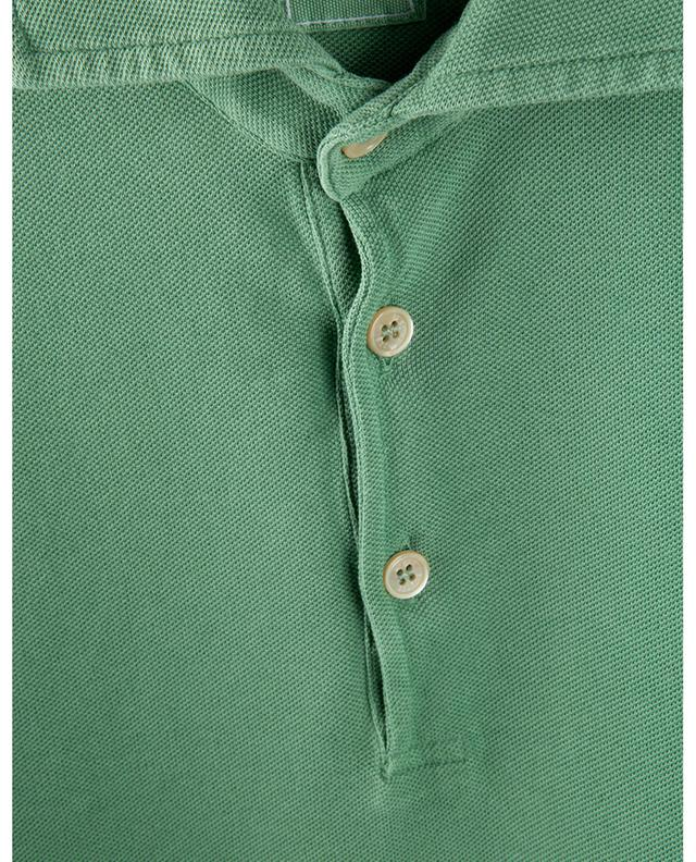 Polo à manches courtes en coton piqué Tommy FEDELI