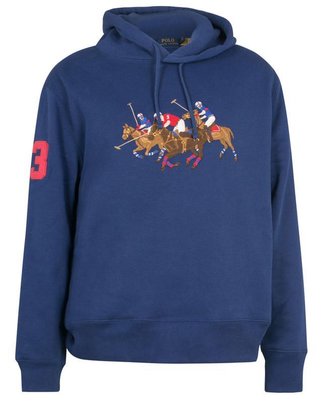 Sweat-shirt à capuche brodé Triple Pony POLO RALPH LAUREN