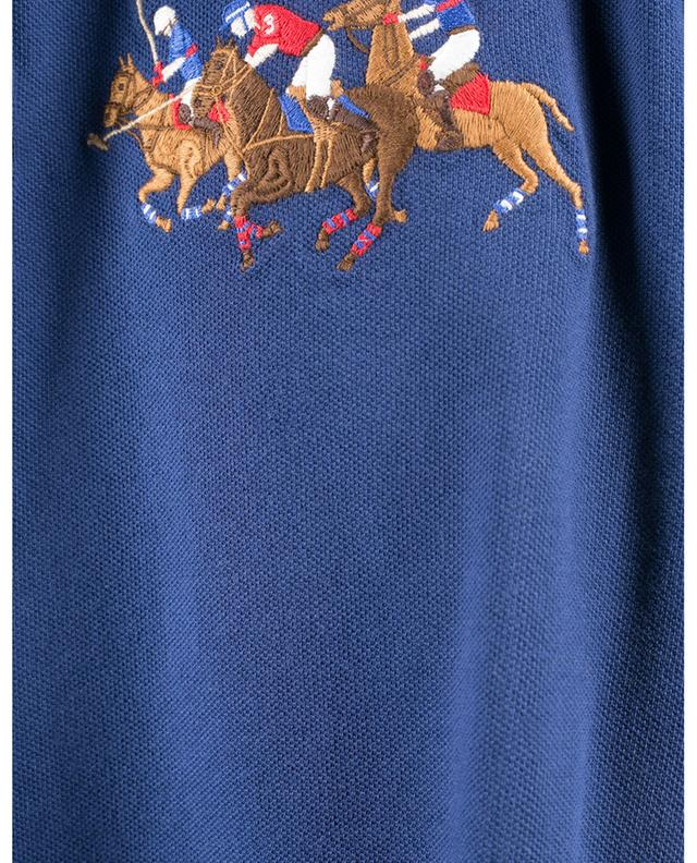 Polo à manches courtes Triple Pony Custom Slim Fit POLO RALPH LAUREN