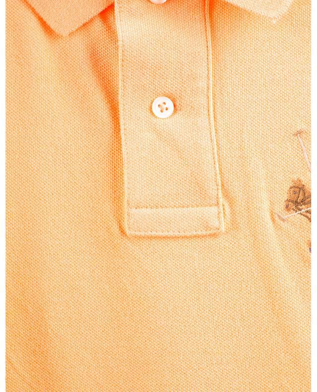 Polo à manches courtes Triple Pony Custom Slim Fit POLO RALPH LAUREN